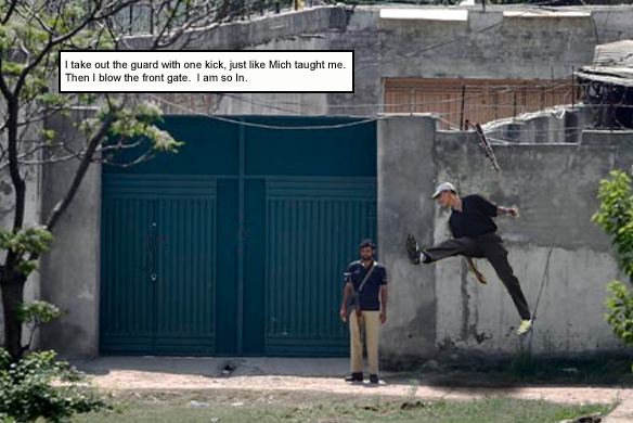 How the Gutsiest President Ever single-handedly killed Osama Bin Laden (2/6)