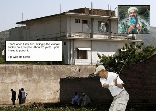 How the Gutsiest President Ever single-handedly killed Osama Bin Laden (4/6)