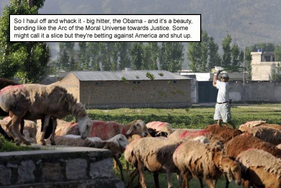How the Gutsiest President Ever single-handedly killed Osama Bin Laden (5/6)