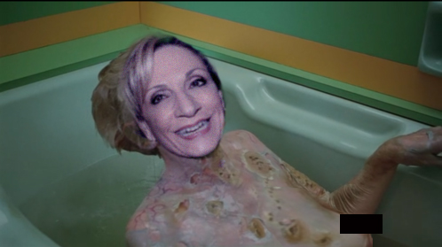 Ran into Andrea Mitchell at the hotel the other day (6/6)