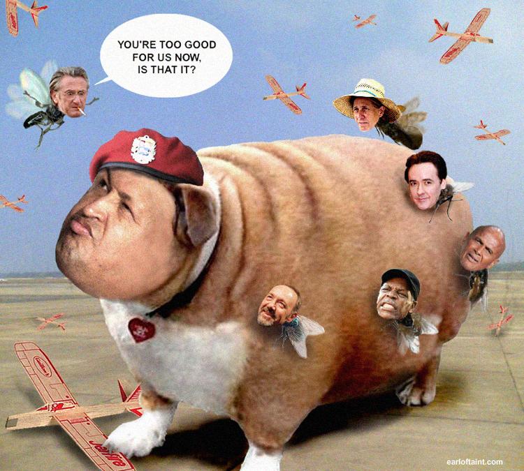 Hugo Chavez acquires Pilotless Drones, Mindless Drones shoved aside