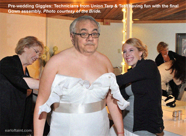 Exclusive Picture from Barney Frank's Wedding Prep