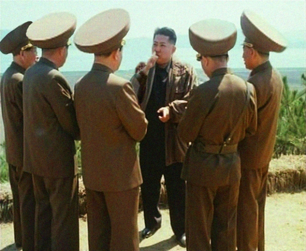 kim jong un instructs his generals