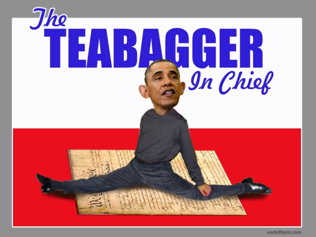 obama the teabagger
