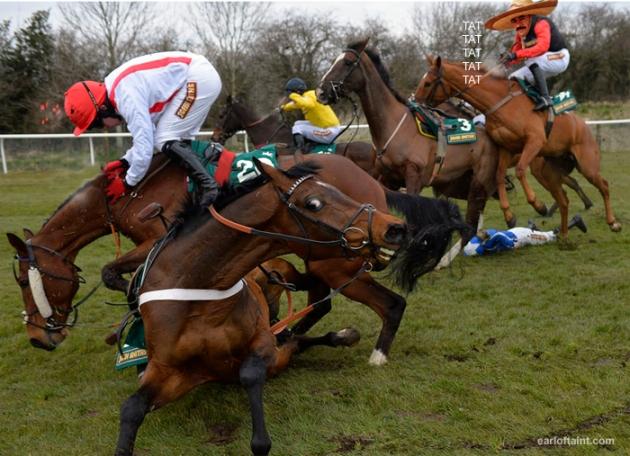 drug cartels horse racing venture