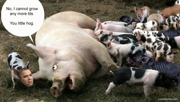 obama is a pig