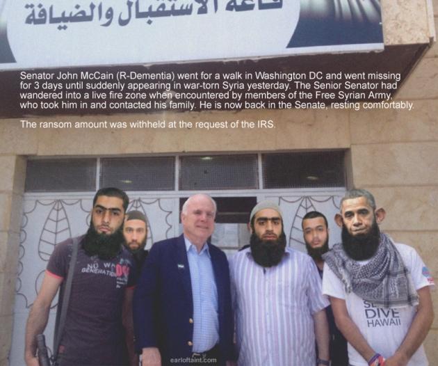 mccain meets syrians