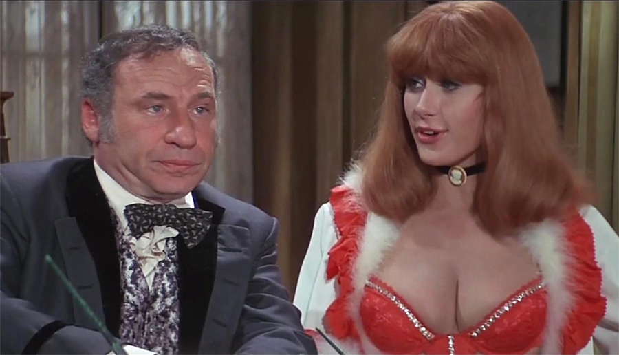 Blazing saddles in redhead