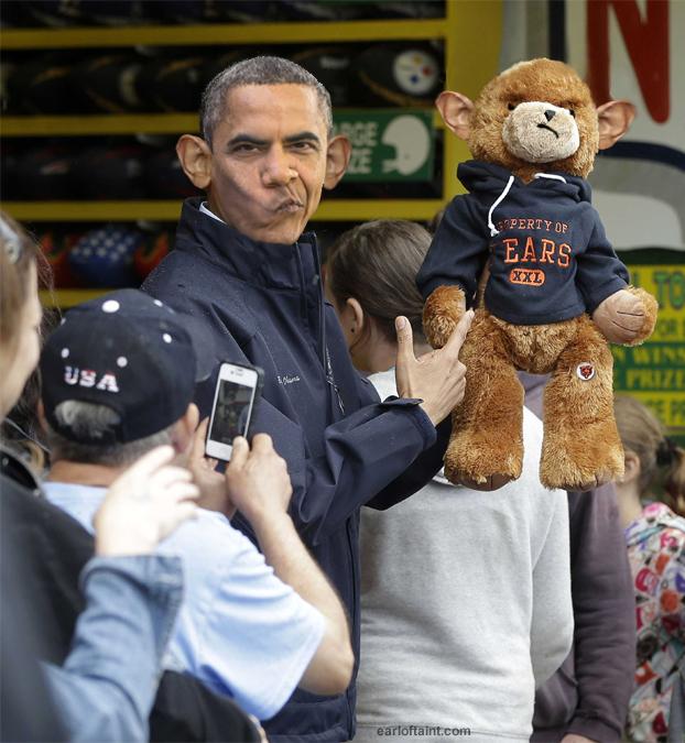 obama teddy