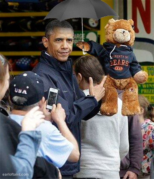 obama teddy bear