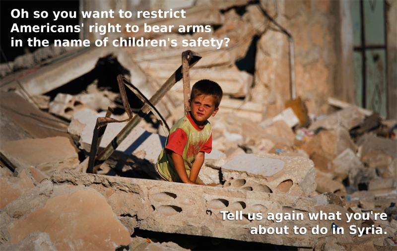guns to syria
