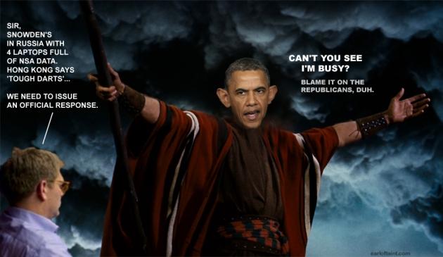 obama lowering the seas