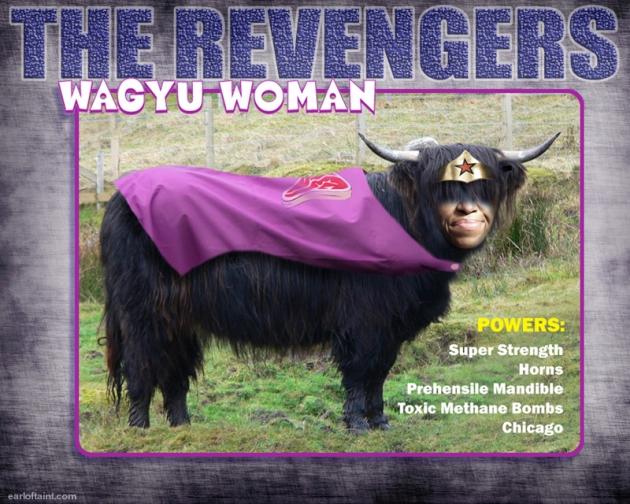 wagyu woman