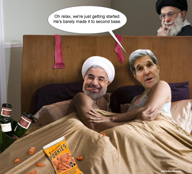 kerry sleeps with iran