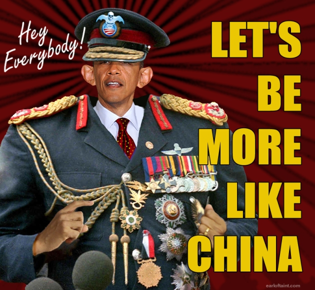 more like china