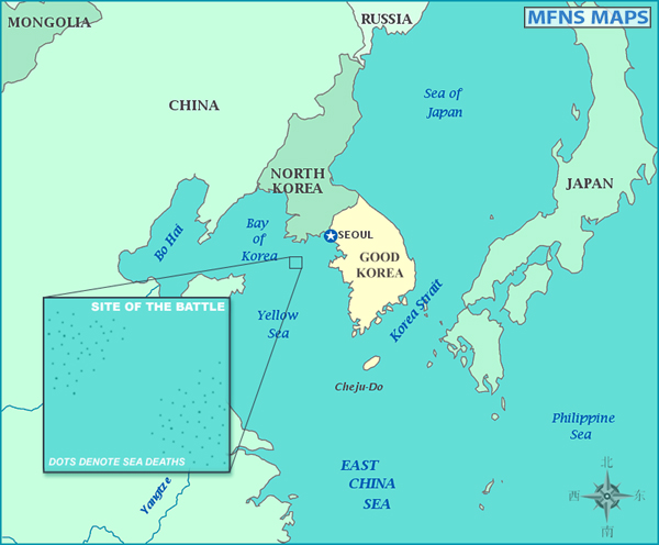 korea battle map