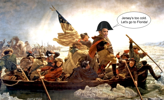 not crossing the delaware