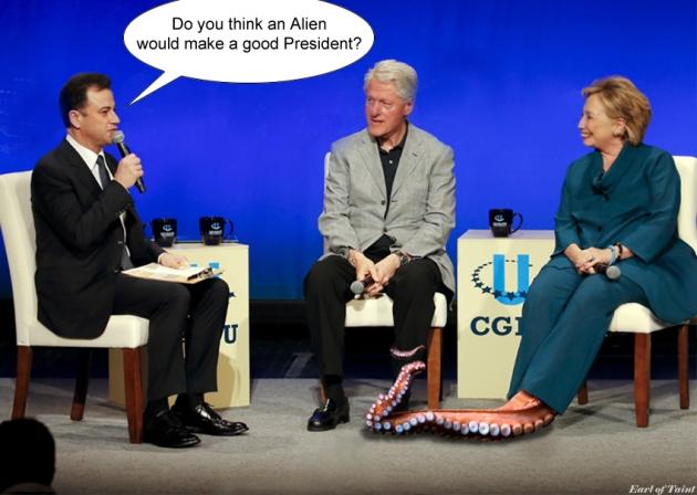 Bill and Hillary Clinton 2014