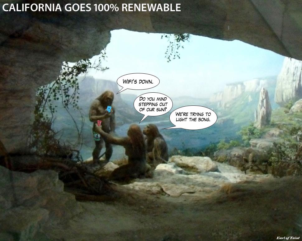 California Goes 100% Renewable