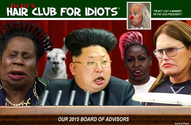 idiot hairdos