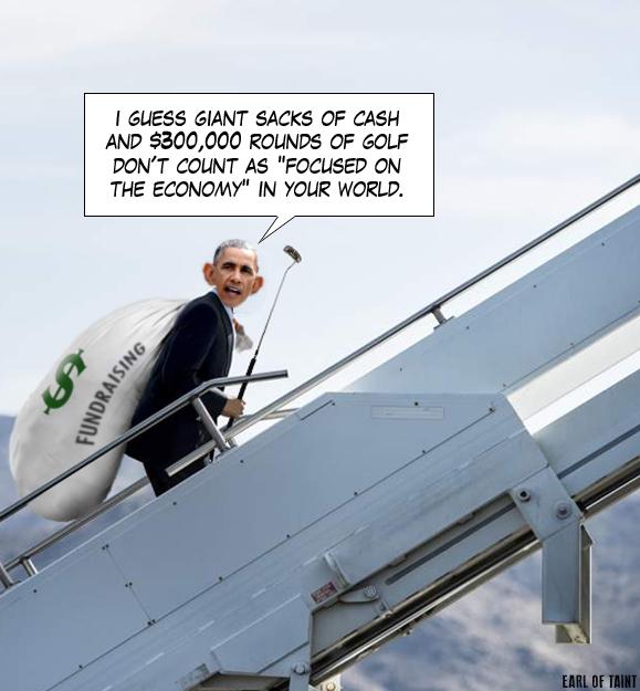 obama-golfin