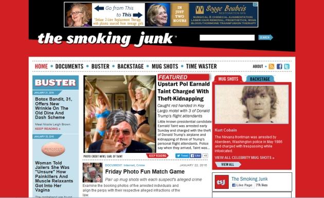 smoking junk