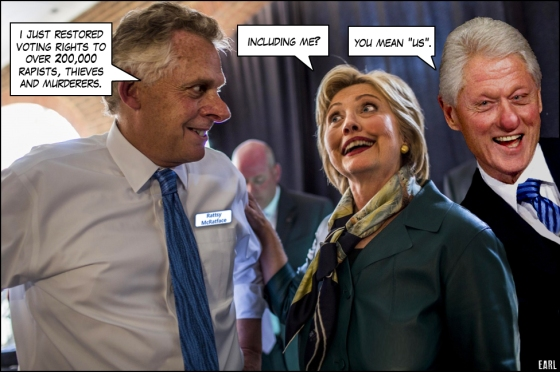 mcauliffe and felons