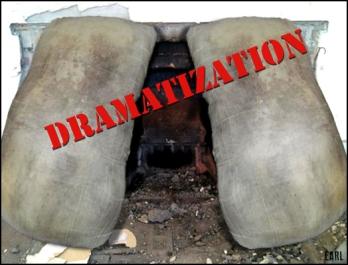 hillary's ass metaphor