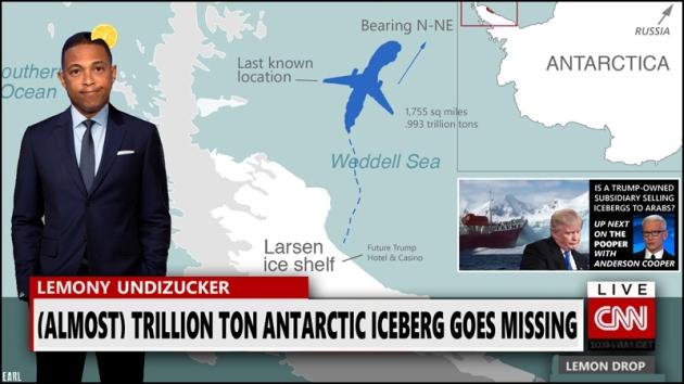 iceberg missing