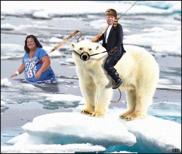 trump bear