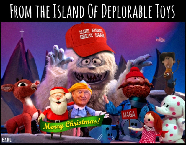 Island of Deplorable Toys