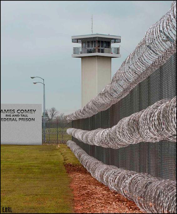comey prison
