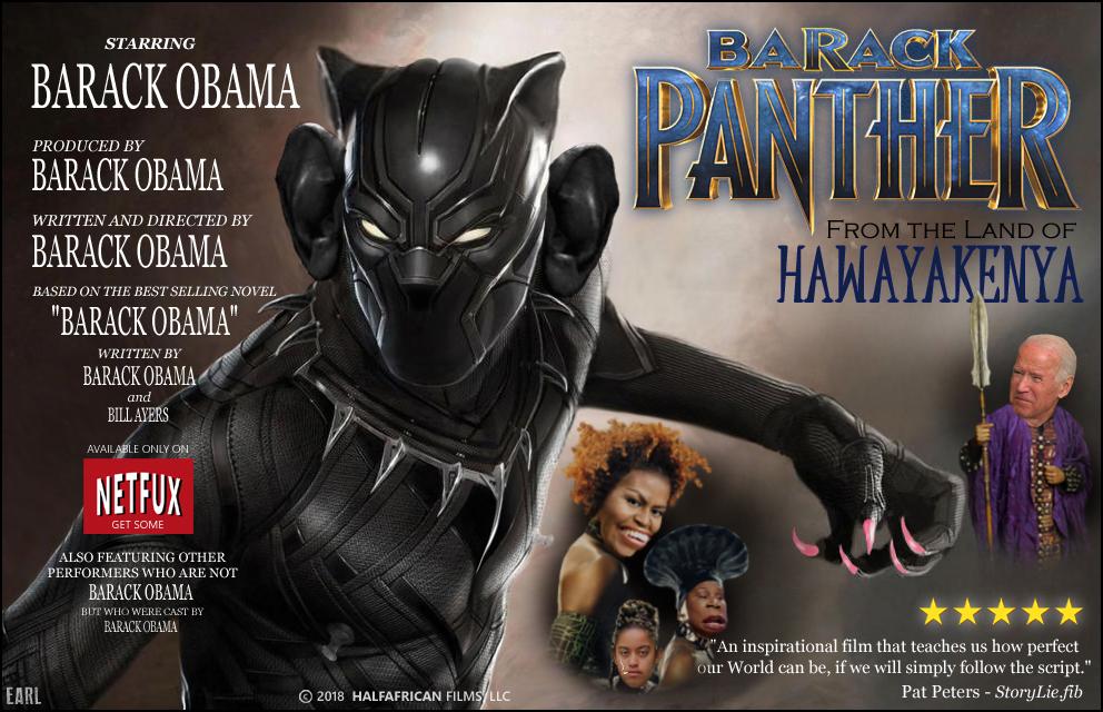 barack panther poster
