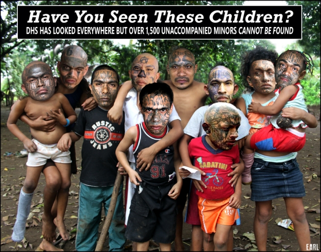 missing immigrant children