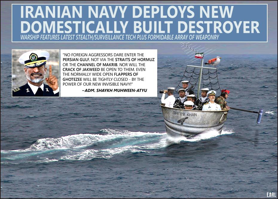 iran navy