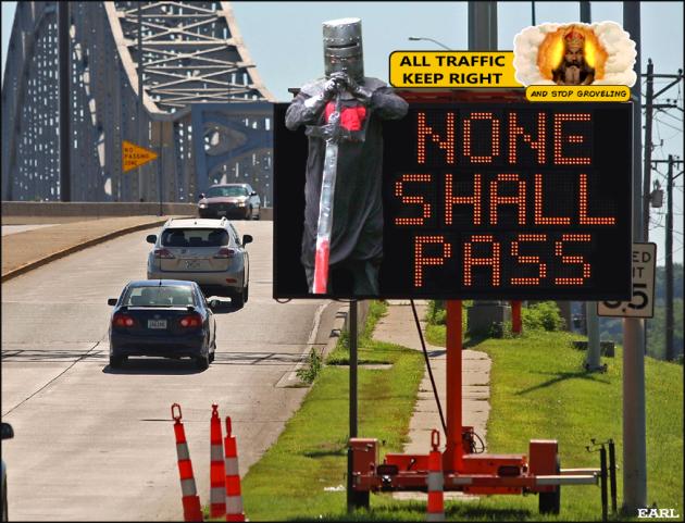no passing