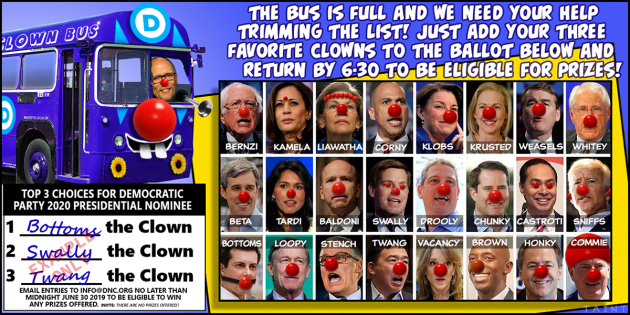 clown bus