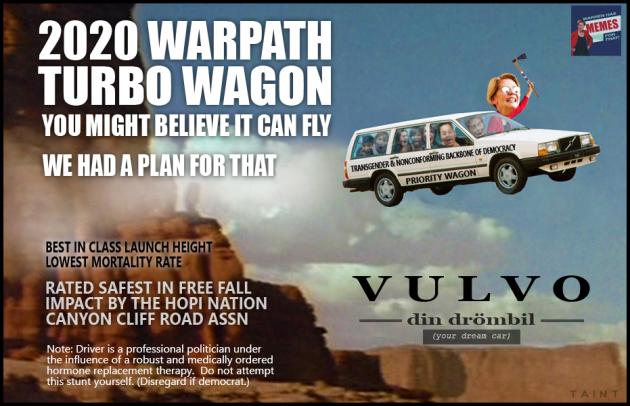 warren volvo wagon