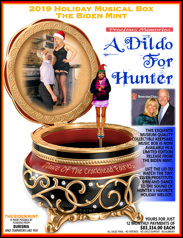 a dildo for hunter